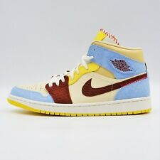 Never Used w/o Box Jordan 1 Mid SE Fearless 'Maison Chateau Rouge' -BBR2304