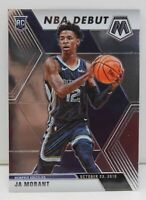 Ja Morant RC 2019-20 MOSAIC NBA Debut Base Rookie Card #274 Memphis Grizzlies