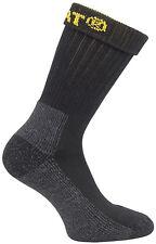 Caterpillar Industrial Work Sock 2 PK Black Size 6x11