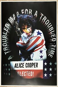 Alice Cooper - Elected! Poster