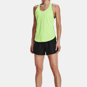 Under Armour Women's UA Tech Heatgear Athletic Vent Tank.Summer Lime
