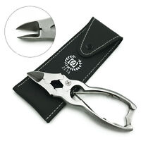 PROFESSIONAL HEAVY DUTY STAINLESS STEEL PODIATRY TOE NAIL CLIPPER CUTTER NIPPER