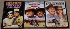 Distant Drums (Gary Cooper), Broken Trail & Bite the Bullet (Western DVD Lot)