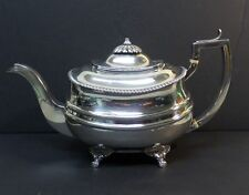 Antique English George Iii Sterling Silver Teapot, London, c. 1816, 635 grams