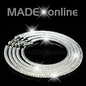 Large Round Hoop Earrings, Big sparkly Diamante Diamonte bling