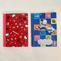 2 Sanrio Pochacco & Hello Kitty Composition Notebooks