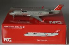 NG 52028 Northwest Airlink CRJ-200LR Bowling Shoe N8524A 1//200 Diecast Jet Model