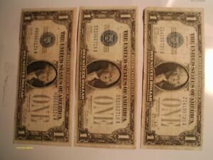 LOOK(1)1934+(2)1928A+(3)1928B(1)1928 $1.00 funny backs,great for your collection