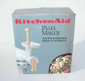 KitchenAid Pasta Maker Food Grinder Mixer Attachment SNFGA Open Box - Excellent