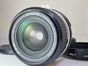 [Excellent!!] Nikon Ai-S Nikkor 24mm f/2.8 Wide Angle MF Lens Japan AIS JP SLR F