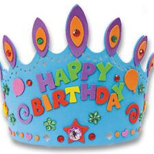 Kid's EVA Crown Hat Birthday Hat Children's Craft Toy Set Handmade Material Kit