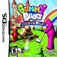 Gummy Bears Mini Golf Nintendo DS