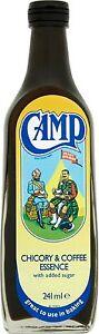 Camp Chicory & Coffee Essence 4 Jars Of 241ml