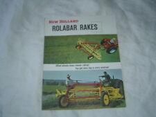 New Holland rolabar 56 57  rakes brochure