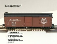 N SCALE: DOUBLE-SHEATHED BOXCAR-ATLAS #45738-ST.LOUIS-SOUTHWESTERN  #38518