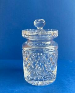 WATERFORD CRYSTAL HONEY/  MARMALADE JAR