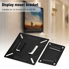 Wall-mounted Metal Stand Bracket Holder for 12-24 Inch LCD LED Monitor TV PC