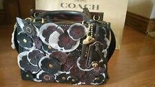 Coach Rogue Tea Rose 25 black/oxblood