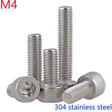 M4 - 0.7 304 Stainless steel Torx Allen Bolts Socket Cap Screws Hex Head DIN 912