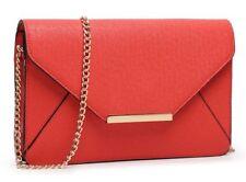 Bolsos de mujer mediano en piel color principal rojo