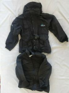 NORTHERN OUTFITTERS EXP II Expedition Parka & Liner Black Men's XS X-Small