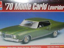 AMT Ertl 1:24 Plastic Model Kit 1970 Chev Monte Carlo Lowrider New