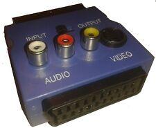 ADATTATORE AUDIO-VIDEO 3 PRESE RCA-SP/PR SCART IN-OUT