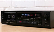 Denon DR-M22 Hi-Fi Cassette Deck DOLBY B/C 3-testa linea chiusa DUAL ARGANO