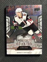 2019-20 UPPER DECK EXQUISITE BARRETT HAYTON PLATINUM ROOKIE R-9 #ed 110/399