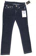 True Religion Jeans 'SKINNY W/CLR CRYSTAL' Body Rinse Size 25 NEW Women
