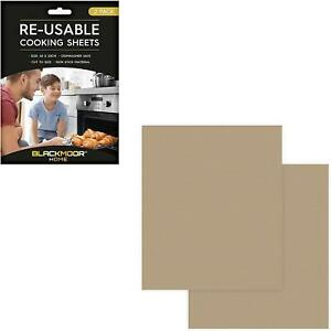 Reusable Cooking Sheets Non Stick Size 40 x 33 cm Microwaveable Dishwasher