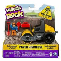 Kinetic Sand Rock Vehicle Paver Spinmaster incl 5oz /141g Sand & Accessories Toy