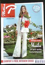 PLATINE n°189 de 2012; Sheila 50 ans après Anny Chancel/ Chamfort & Frégé