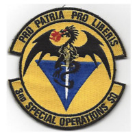 """4"""" AIR FORCE 3RD SPECIAL OPERATIONS SQUADRON PRO PATRIA EMBROIDERED PATCH"""