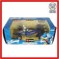 Bburago Disney Collection 1:24 Diecast Formula 1 Racing Car Donald Duck Burago
