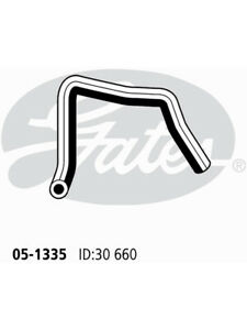 Gates Radiator Hose FOR KIA MENTOR FA (05-1335)