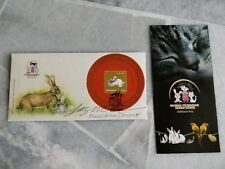 2011 Malaysia Rabbit Year perforated stamp Ms Fdc designer signature autograph