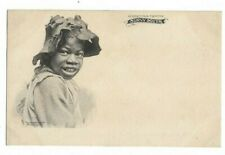 Greetings From The Sunny South, Black Americana Ethnic Postcard.