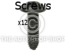 Screws Wings and Bumpers 6 x 20 MM ZN Noir Renault Trafic/Wind etc 11280re 12PK