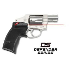 Crimson Trace Defender Accu-Grips Red Laser Sight S&W J-Frame Revolvers - Ds-124