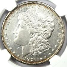 1891-CC Morgan Silver Dollar $1 Carson City Coin - NGC Certified - AU Details