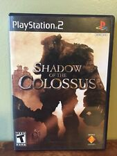 Shadow of the Colossus (Sony PlayStation 2, 2006) - Complete Black Label Clean