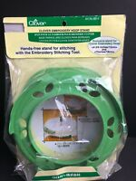 Clover Embroidery Hoop Stand Hands Free #8814 Made In Japan