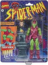 "GREEN GOBLIN RETRO Marvel Legends Spider-Man Series 6"" Action Figure. IN STOCK!"