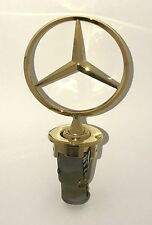 Mercedes Benz W124 Gold Hood Star (124 880 00 86) Non - pullout version