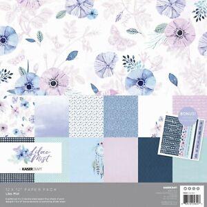 Kaisercraft Lilac Mist 12 x 12' paper pack - new