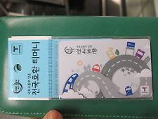 N°3 : Seoul Transportation card // T-Money // Reloadable