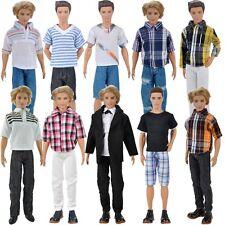 Puppen Kleidung Casual Wear Kleider Kleid Anzug Accessoires für Barbie Ken Doll