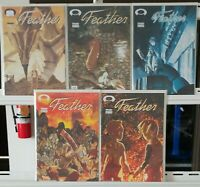 Feather 1 2 3 4 5 Complete Set Series Run Lot 1-5 VF/NM