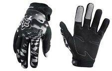 Guanti Adulto Fox Dirtpaw Mx Gloves Checked Out Nero Bianco Cross Enduro MTB